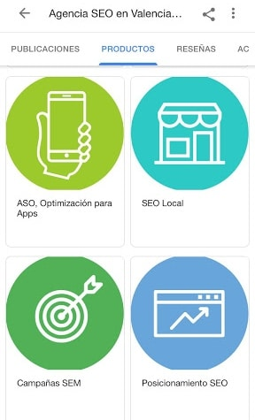 servicios google my business