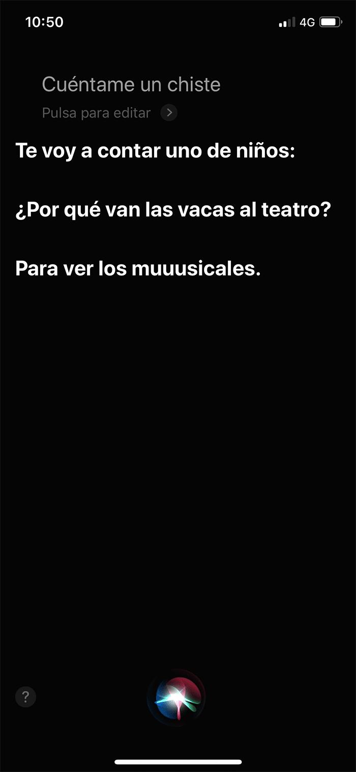 Siri también tiene formas originales de contestar