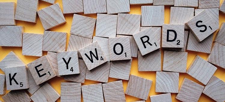 Busca keywords
