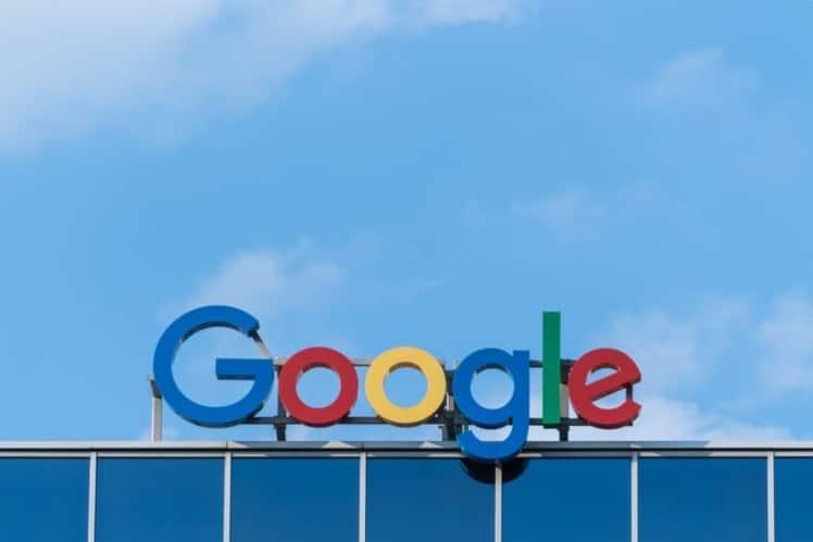 letrero de google