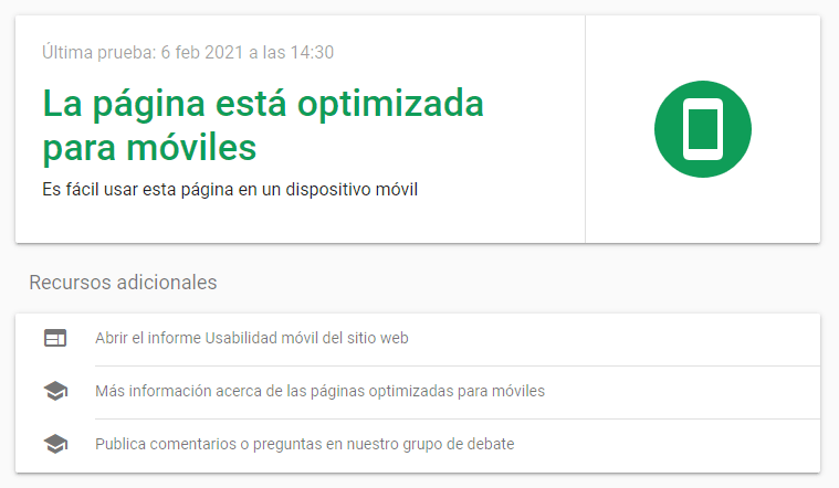 web responsiva